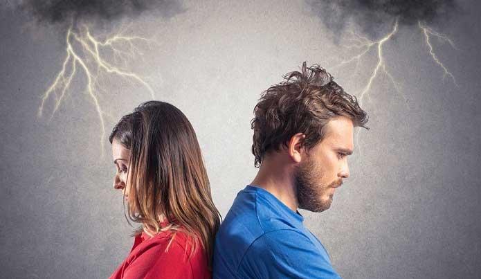 conflicto de pareja